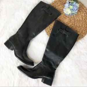 Born Crown Leather Knee High Boots 8.5